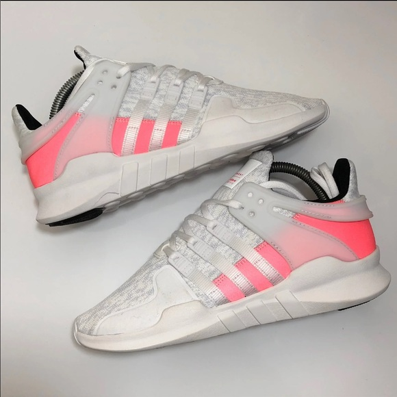 25a2b9241dcb adidas Shoes - NEW Wmns Adidas EQT Support Hot Pink Wht